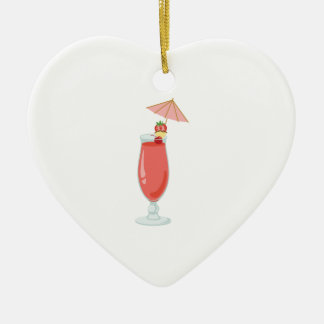 Daiquiri Cocktail Ceramic Ornament