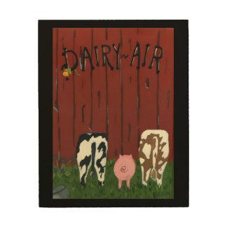 Dairy Air Wood Wall Art Wood Prints