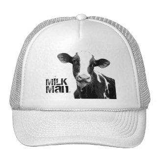 Dairy Cow - Black and White Dairy Calf Mesh Hats