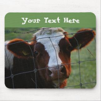 Dairy Cow Farm Animal Barnyard Animal Cute Animals Mouse Pad
