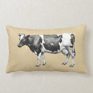 Dairy Cow Lumbar Pillow
