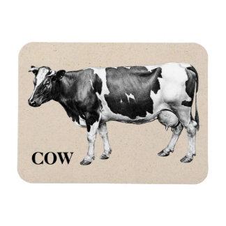 Dairy Cow Rectangular Magnet