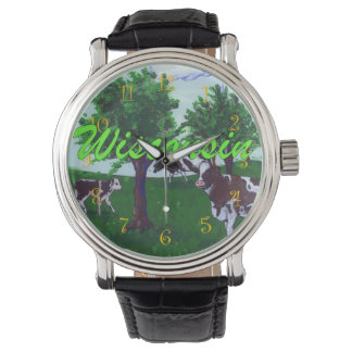 Dairy Cows of Wisconsin Wristwatches
