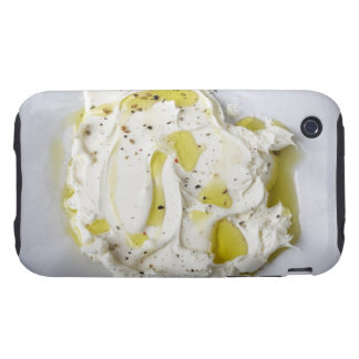 Dairy, Food, Food And Drink, Mascarpone, Cheese iPhone 3 Tough Case