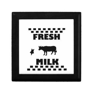 Dairy fresh cow milk gift box