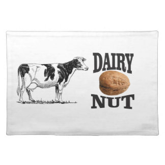 dairy nut placemat