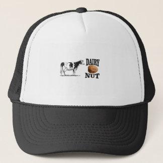dairy nut trucker hat