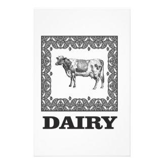 Dairy prize stationery