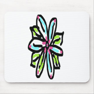 Daisey Summer Flowers Mouse Pad