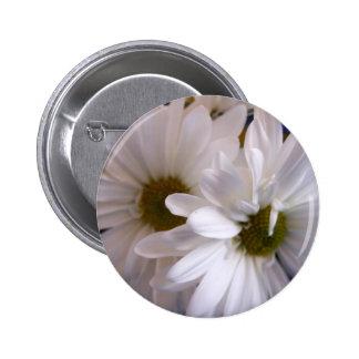 Daisies 6 Cm Round Badge