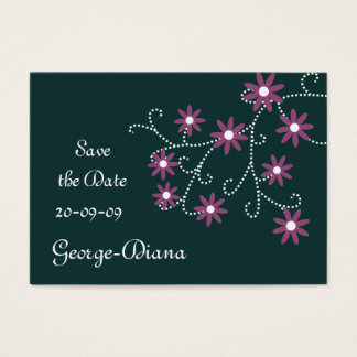 Daisies Affordable Save the Date Cards