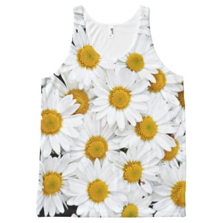 Daisies All-Over Print Singlet