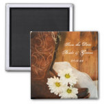 Daisies and Boots Country Wedding Save the Date
