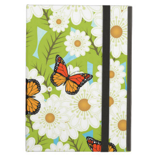 Daisies and butterflies case for iPad air