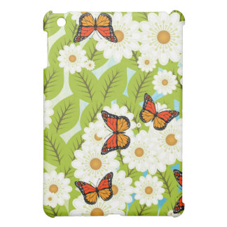 Daisies and butterflies cover for the iPad mini