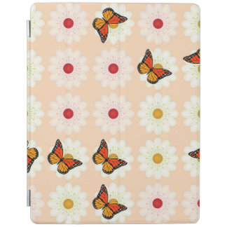 Daisies and butterflies iPad cover