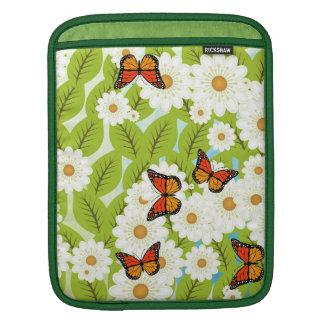 Daisies and butterflies iPad sleeve