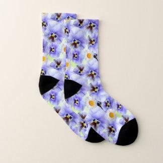Daisies and Pansies Socks