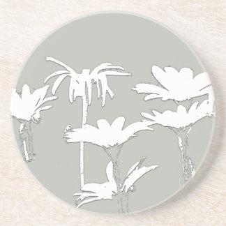 Daisies Art Coaster