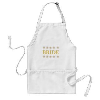 Daisies Bride T-shirts and Gifts Standard Apron