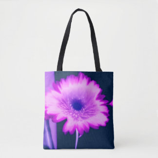 Daisies Brighten up the Day pink and purple daisy Tote Bag