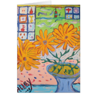 Daisies by Mike Alley Greeting Card