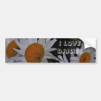 Daisies Daisies Daisies Flowers Bumper Sticker