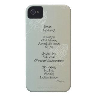 Daisies Dream Poem Case-Mate iPhone 4 Case