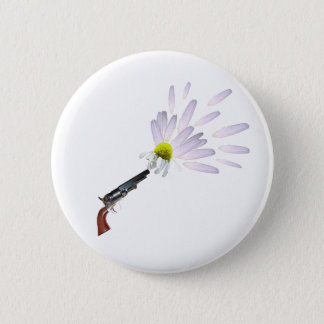 Daisies for bullet 6 cm round badge