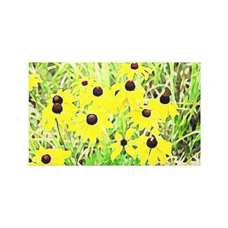 Daisies for days!!! canvas print