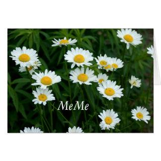 Daisies Greeting Card for MeMe