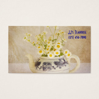 Daisies in a Teapot Business Card