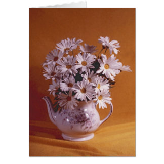 Daisies In Teapot All Occasion Card