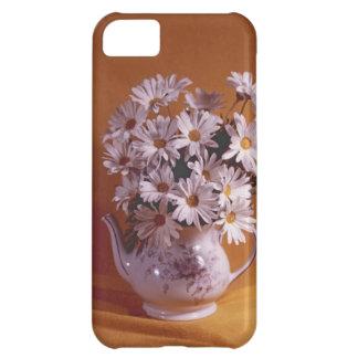 Daisies In Teapot iPhone5 Case iPhone 5C Cases