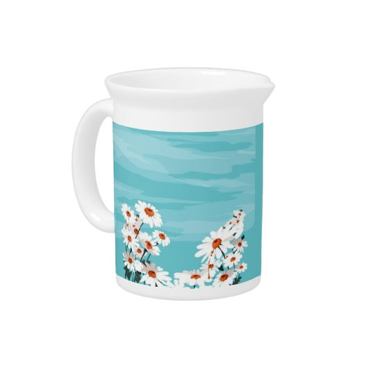 Daisies in the Breeze Beverage Pitchers