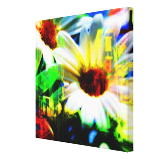 Daisies In The City Canvas Print