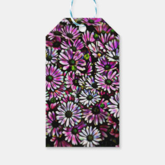 daisies in the garden gift tags