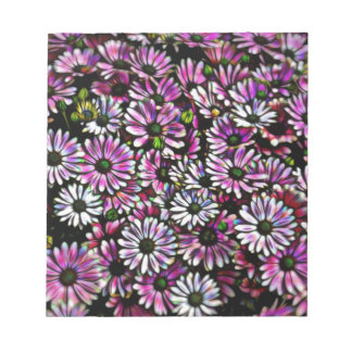 daisies in the garden notepad