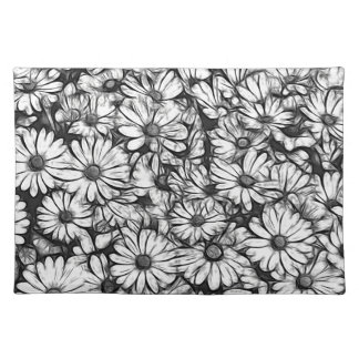 daisies in the garden placemat