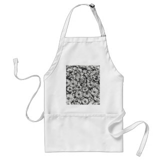 daisies in the garden standard apron