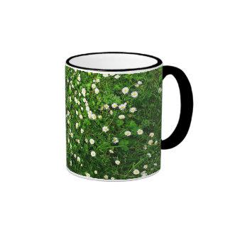 Daisies in the Grass Ringer Mug
