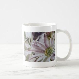 Daisies in watercolor mug