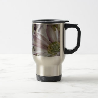 Daisies in watercolor coffee mug