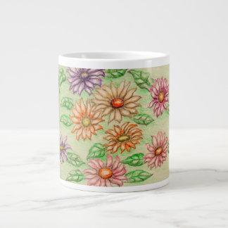 daisies jumbo mug
