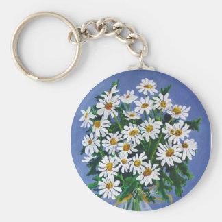 Daisies Key Ring