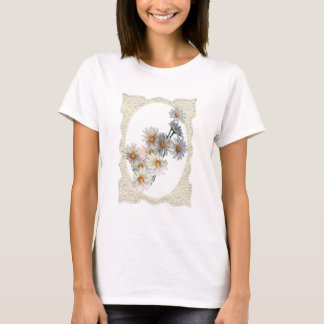 DAISIES & LACE by SHARON SHARPE T-Shirt