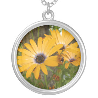 Daisies Lady bug, Necklace