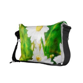 Daisies Messenger Bags