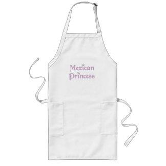 Daisies Mexican Princess Long Apron
