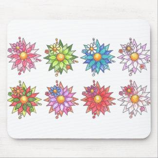 Daisies!  Mousepad- White